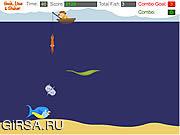 Флеш игра онлайн Hook, Line & Sinker