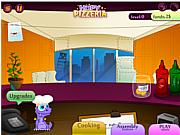 Флеш игра онлайн Hopy Pizzeria