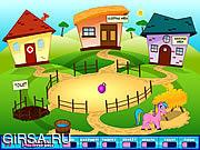 Флеш игра онлайн Лошадиная ферма