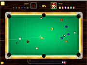 Флеш игра онлайн Hot 8 Balls Billiards PVP
