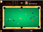 Флеш игра онлайн Hot 8 Balls Billiards PVP