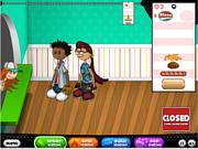 Флеш игра онлайн Горячая закусочная