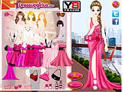 Флеш игра онлайн Горячий розовый / Hot Pink Style