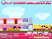 Флеш игра онлайн Строитель отеля / Hotel Builder