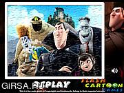 Флеш игра онлайн Отель Трансильвания / Hotel Transylvania Sort My Jigsaw