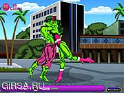 Флеш игра онлайн Hulk Kissing