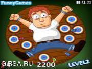 Флеш игра онлайн Человека Дартс / Human Darts