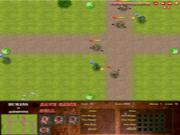 Флеш игра онлайн Humans vs Monsters