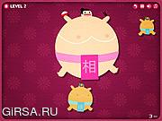Флеш игра онлайн Голодный сумо