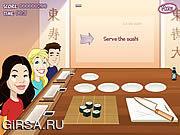 Флеш игра онлайн Сумасшествие ISushi / ISushi Madness