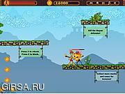 Флеш игра онлайн Колдун Вуду