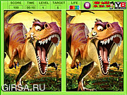 Флеш игра онлайн Ice Age Dawn Of The Dinosaurs Differences