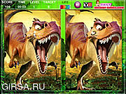 Флеш игра онлайн Ice Age Dawn Of The Dinosaurs Spot The Difference