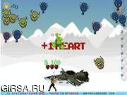 Флеш игра онлайн Ледяные инопланетные захватчики