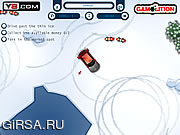 Флеш игра онлайн Парковка на льду / Ice Rink Parking