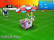 Флеш игра онлайн Черточка мороженного / Ice Cream Dash
