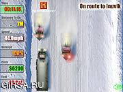 Флеш игра онлайн Водители грузовика 2 дороги льда
