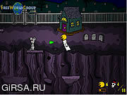 Флеш игра онлайн Ickibod and The Lost Bucket of Sweets