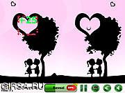 Флеш игра онлайн Icy Heart 5 Differences