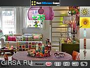 Флеш игра онлайн В гостиной - найти предметы / In The Living Room