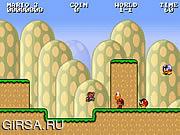 Флеш игра онлайн Бесконечный Марио в HTML 5