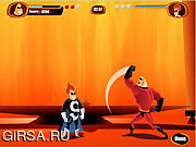 Флеш игра онлайн The Incredibles - Save the Day