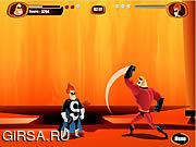 Флеш игра онлайн Суперсемейка - Спасение / The Incredibles - Save the Day