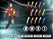 Флеш игра онлайн Iron Man Costume