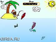 Флеш игра онлайн Island Fishing