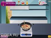 Флеш игра онлайн Курица на сковородке по-итальянски / Italian Skillet Chicken