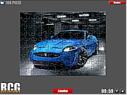 Флеш игра онлайн Ягуар Головоломки / Jaguar Jigsaw
