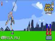 Флеш игра онлайн Метание копья / Javelin Throwing