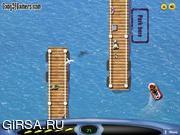 Флеш игра онлайн Jet Ski Parking game
