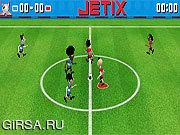 Флеш игра онлайн Jetix А Футбол / Jetix Soccer