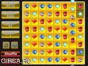 Флеш игра онлайн Подбери пару - Ювелирка / Jewel Match 3