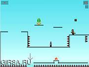 Флеш игра онлайн JibQuest 2-Д