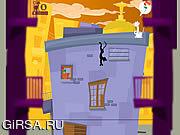Флеш игра онлайн Прыгает Кошка / Jumping Cat