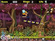 Флеш игра онлайн Битва в джунглях
