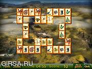 Флеш игра онлайн Маджонг Юрского Периода / Jurassic Period Mahjong