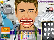 Флеш игра онлайн Прекрасная улыбка Джастина Бибера