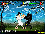 Флеш игра онлайн Karate Kamil vs Ninja Nejat