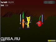 Флеш игра онлайн Коренев Кэт 2 / Kat Killah 2