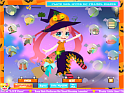 Флеш игра онлайн Наряд для Изадоры / Kawaii Witch Dressup