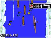Флеш игра онлайн Арктических Речных Приключений / Arctic River Adventure