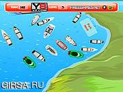 Флеш игра онлайн Лодочная парковка / Kayak Boat Parking