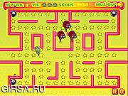 Флеш игра онлайн Звездный пэкман / Kero - Poursuite