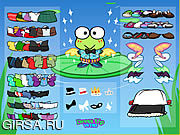 Флеш игра онлайн Keroppi Dress Up