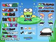 Флеш игра онлайн Keroppi Dress Up