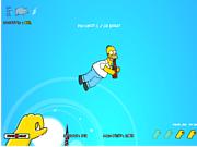 Флеш игра онлайн Kick Ass Homer 1