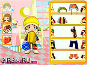 Флеш игра онлайн Kiddy Playdate